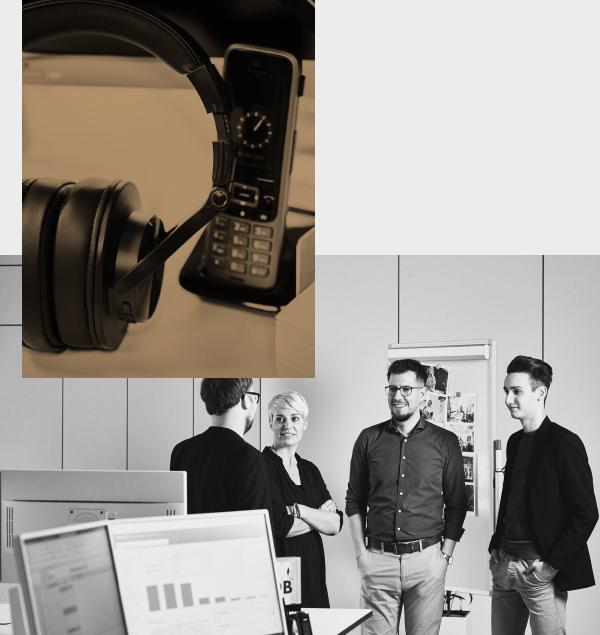 Eine Bildcollage der arvenio marketing GmbH