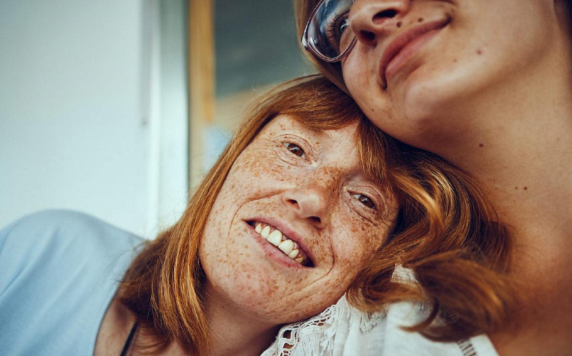 Zwei Menschen mit Handycap der Lebenshilfe im Kreis Rottweil gGmbH