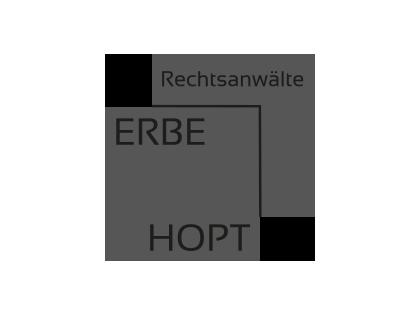 Logo Rechtsanwälte Erbe & Hopt