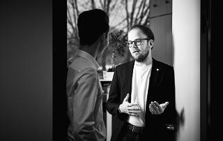 Raphael Roth Leiter Marketing Kommunikation bei arvenio