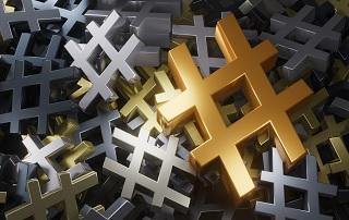 Hashtags Social Media im B2B Umfeld