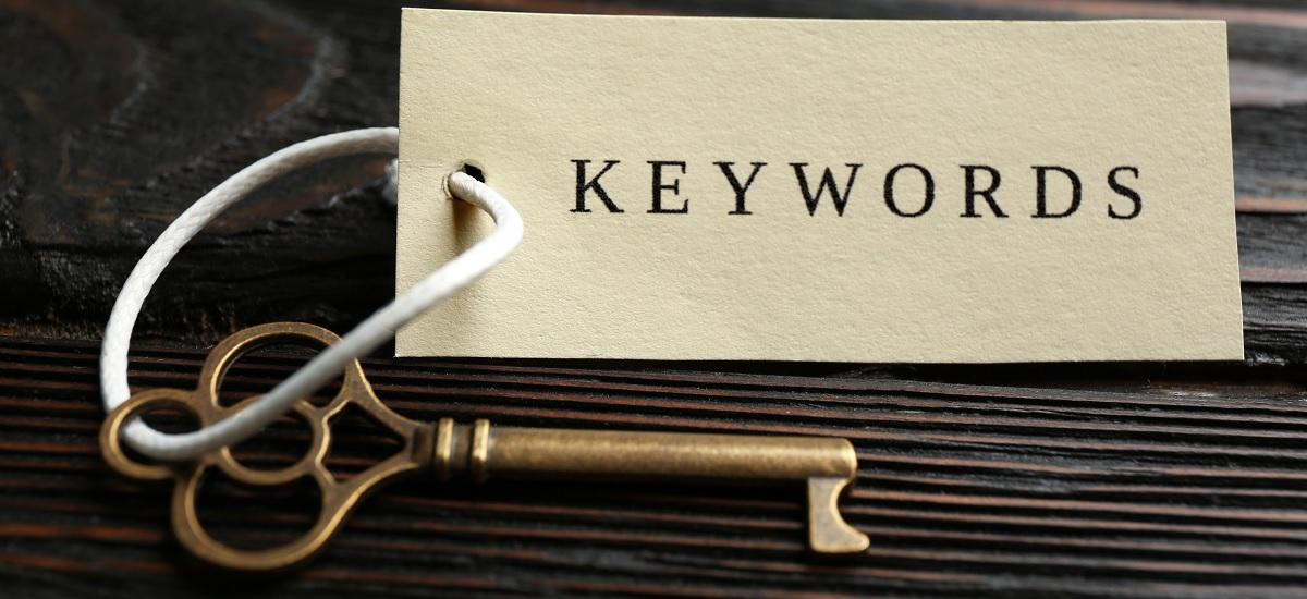 Der Schlüssel zum richtigen Keyword